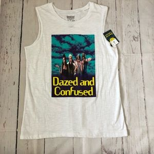 DAZED AND CONFUSED BURN OUT TANK TOP